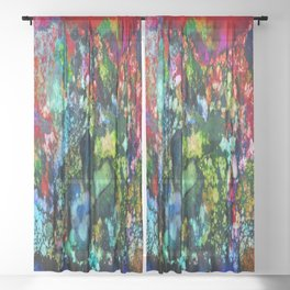 Coral Reef Sheer Curtain