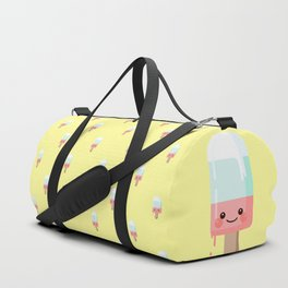Kawaii melting popsicle pattern Duffle Bag