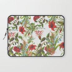 Ruby & Cerulean Floral Laptop Sleeve