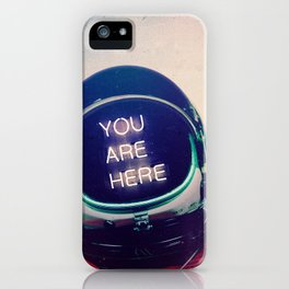 Where You Are iPhone Case