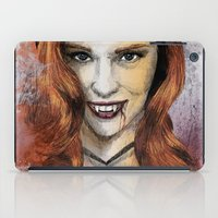 true blood iPad Cases featuring Oh My Jessica - True Blood by Fresh Doodle - JP Valderrama