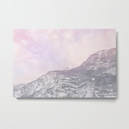 The Alps Mountains Metal Print