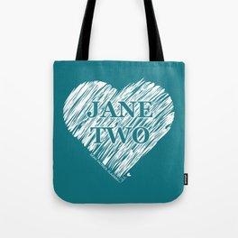 Heart Jane Two Tote Bag