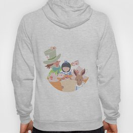Alice and Tea Party Hoody