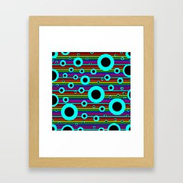 Hole in the water | Greek  Quotes Framed Art Print