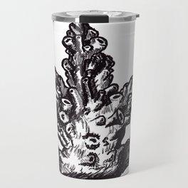 Coral lithography print Travel Mug