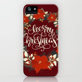 Christmas Greetings 5 iPhone Case
