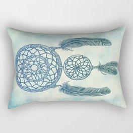 Double Dream Catcher Rectangular Pillow