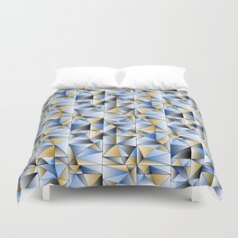 Food Triangle Duvet Cover