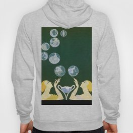 "1920's Art Deco Design ""Bubbles"" Hoody"