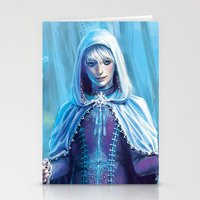 jack frost Stationery Cards featuring Jack Frost by franzkatter