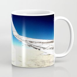 paper plane. Coffee Mug