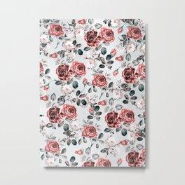 flowers pattern 3a Metal Print