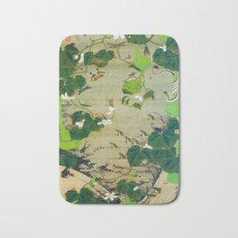 Ito Jakuchu - Pond Insects - Digital Remastered Edition Bath Mat