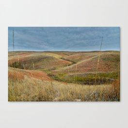 October in Grasslands National Park Canvas Print