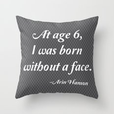 Age 6 Throw Pillow