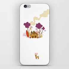 Cabin in Woods iPhone & iPod Skin