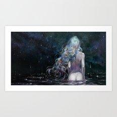 requiem for stardust Art Print