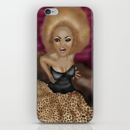"""Who Do You Think You Are """"Scary Spice"""" iPhone Skin"""