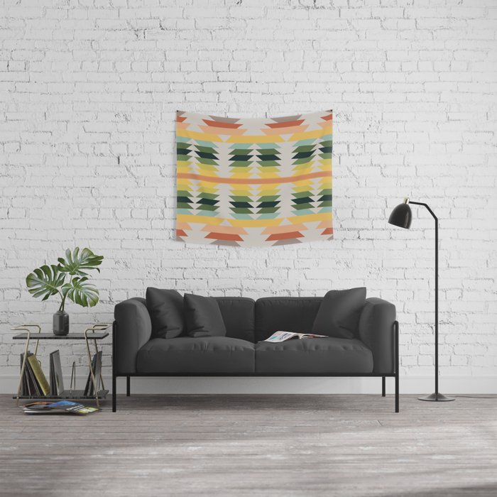 American Native Pattern No. 207 Wall Tapestry