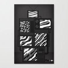 SSSTATIC Redux Canvas Print