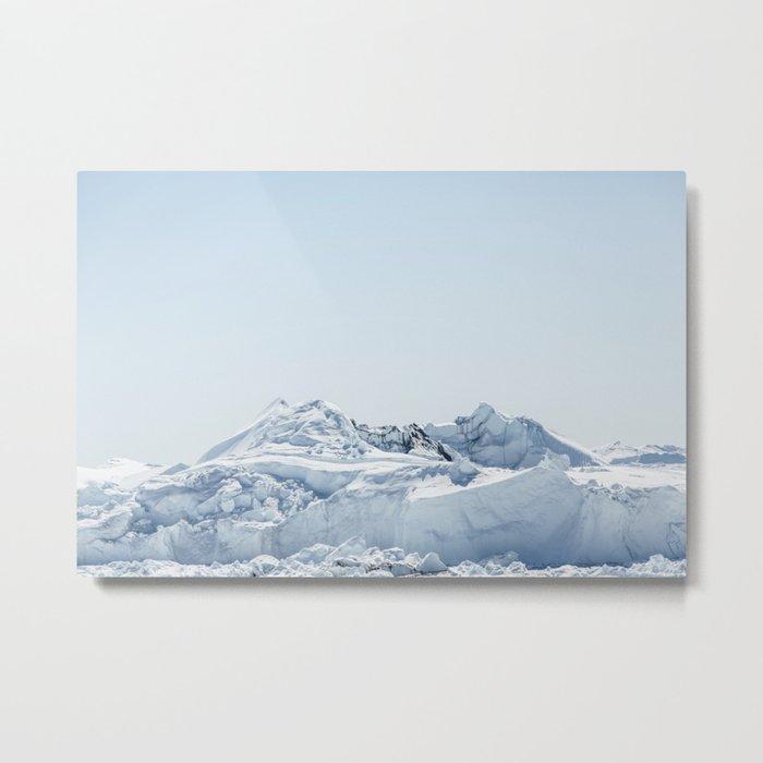 wall of ice Metal Print