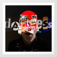 iHead 2 Art Print
