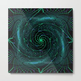 Hypnotized Metal Print