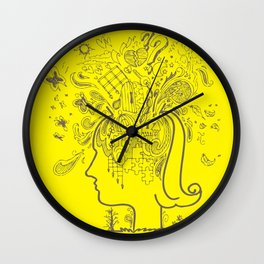 Over Thinking Over and Over Wall Clock