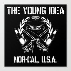 The Young Idea - NorCal Emblem Canvas Print