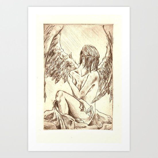 Lacrimosa Art Print