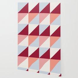 Trio (maroon) Wallpaper