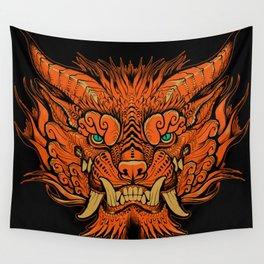Foo Dog Wall Tapestry