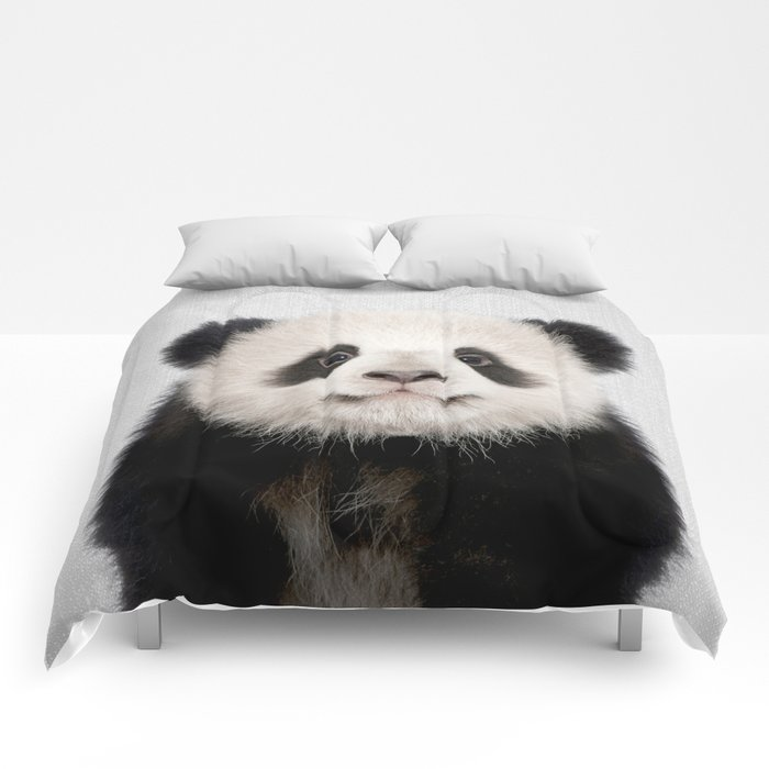 Panda Bear - Colorful Comforters