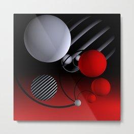 geometric still life -02- Metal Print