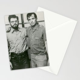 Allen Ginsberg and Jack Kerouac Stationery Cards