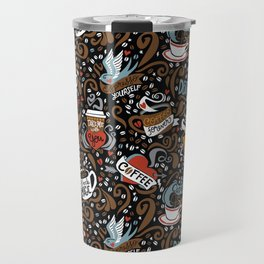 Brewed & Tattooed Travel Mug