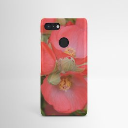 Apricot Mallow Blossoms Android Case