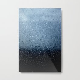 lluvia fria Metal Print