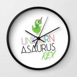 Unicornasaurus Wall Clock
