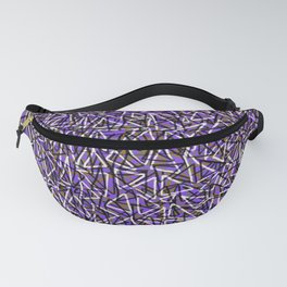 Triangles_Purple Fanny Pack