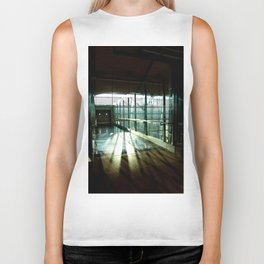 Boarding shadows Biker Tank