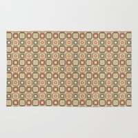 square Area & Throw Rugs featuring Square by samedia