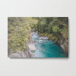 Blue Pools Metal Print