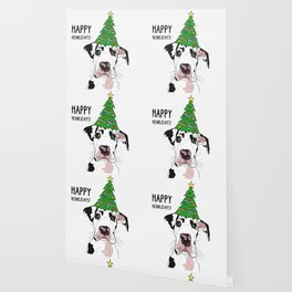 Happy Howlidays Great Dane Wallpaper