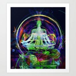 Anandam Art Print