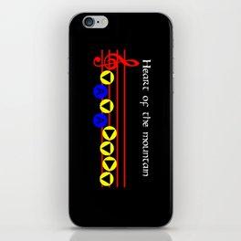 Heart Of The Mountain - Bolero Of Fire (The Legend Of Zelda: Ocarina Of Time) iPhone Skin