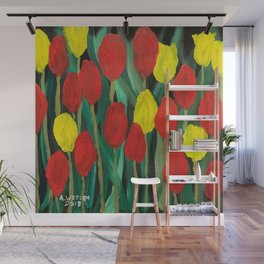 Tulip Time Wall Mural