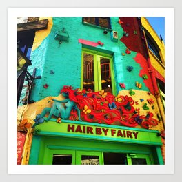 Neal's Yard Fairy  Art Print