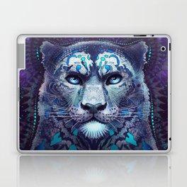 Snow Leopard Late Night Laptop & iPad Skin